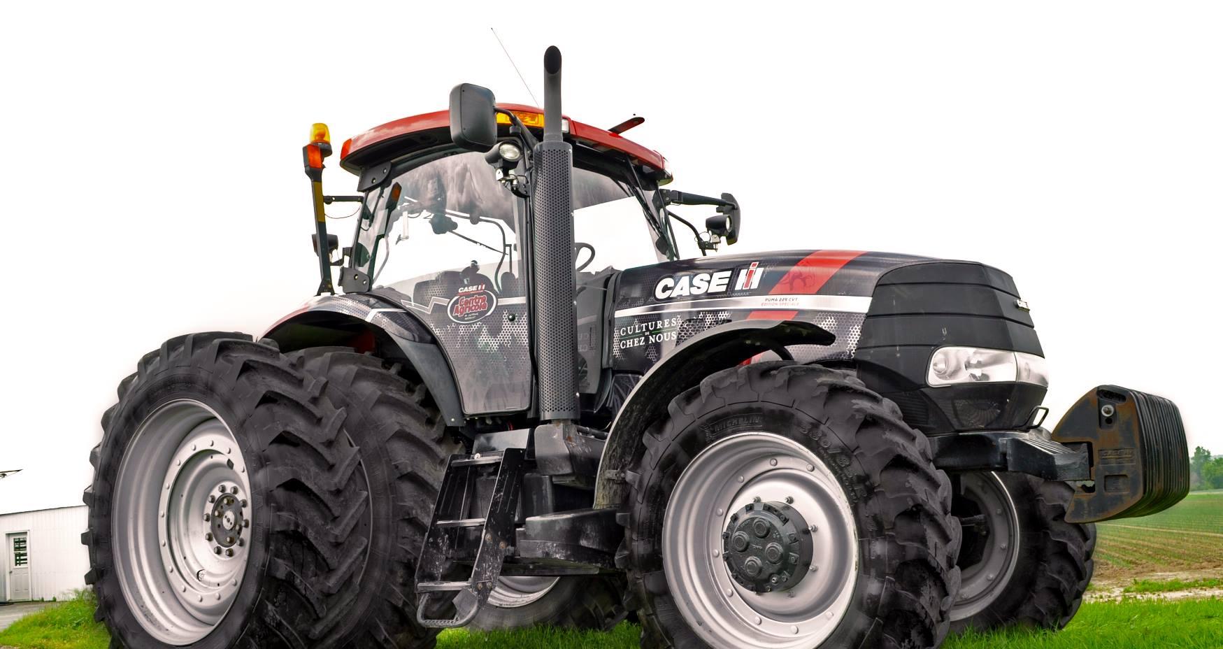 Tracteur Case IH - Recouvrement tracteur