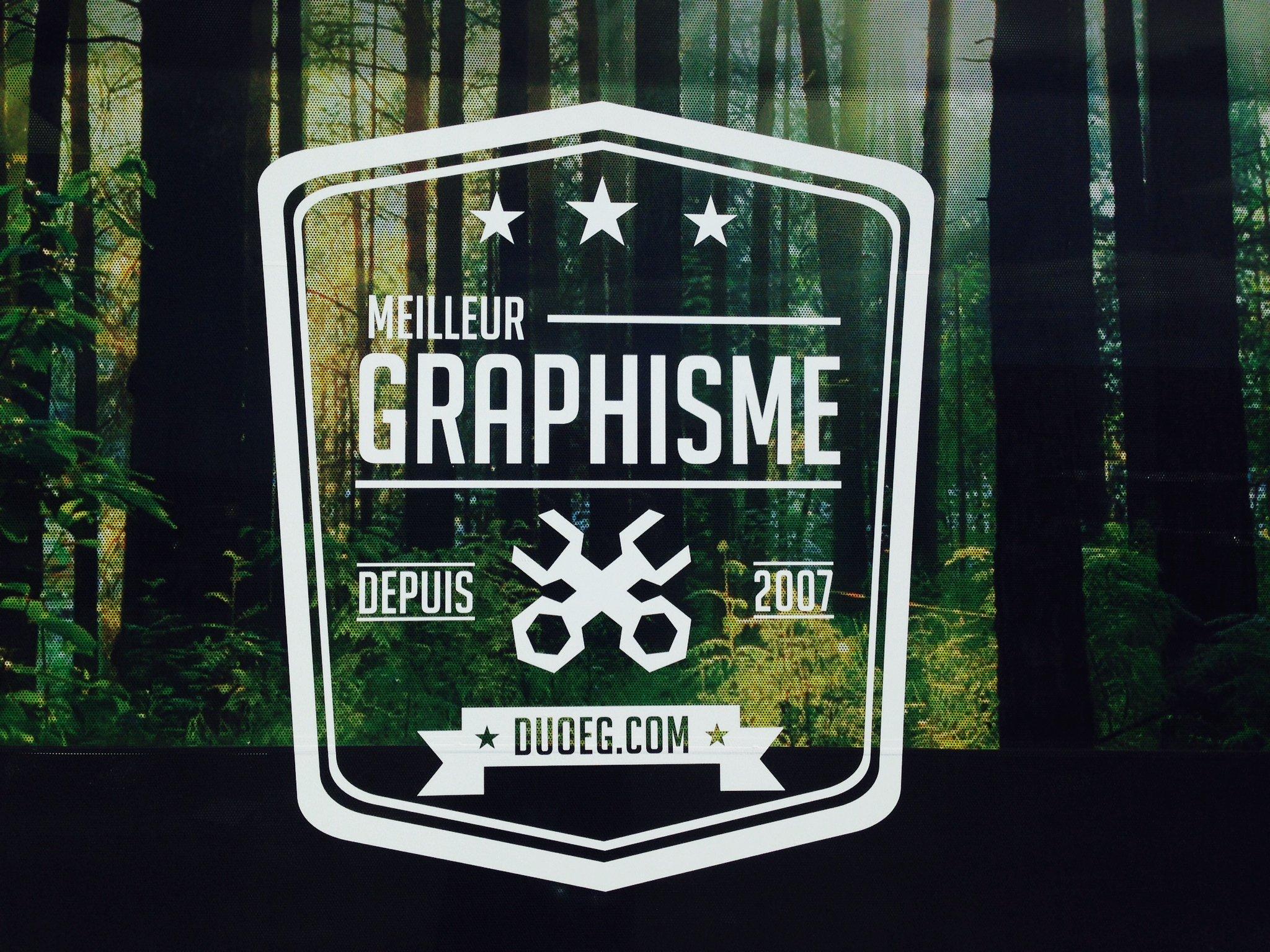 Duo Énergie Graphique - Fenêtre perforé Graphisme