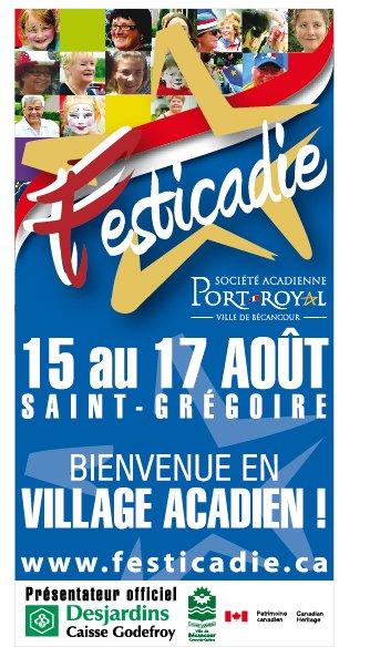 Pancarte du Festicadie 2014