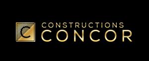 Logo Constructions Concor - Conception Duo Énergie Graphique