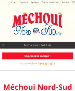 Responsive design Méchoui Nord-Sud Duo Lettreur Nord-Sud