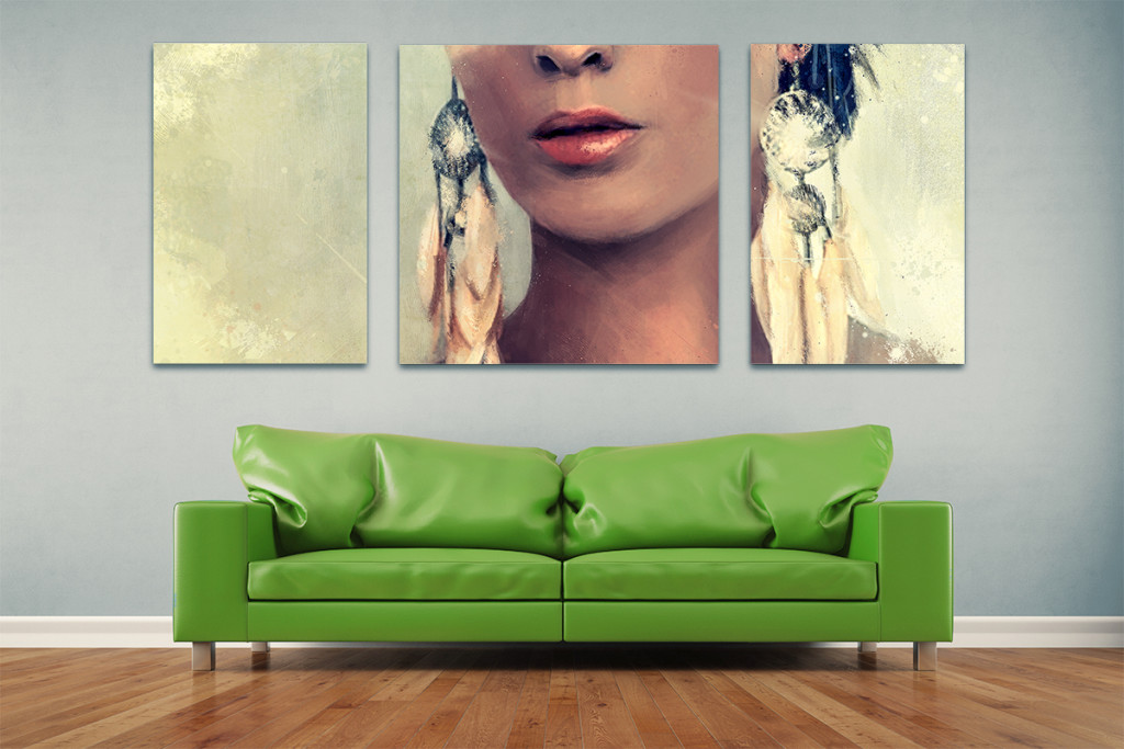 Impression sur toile - nouveau service Duo Lettreur Nord-Sud