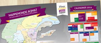 Affiche imprimée AQMAT