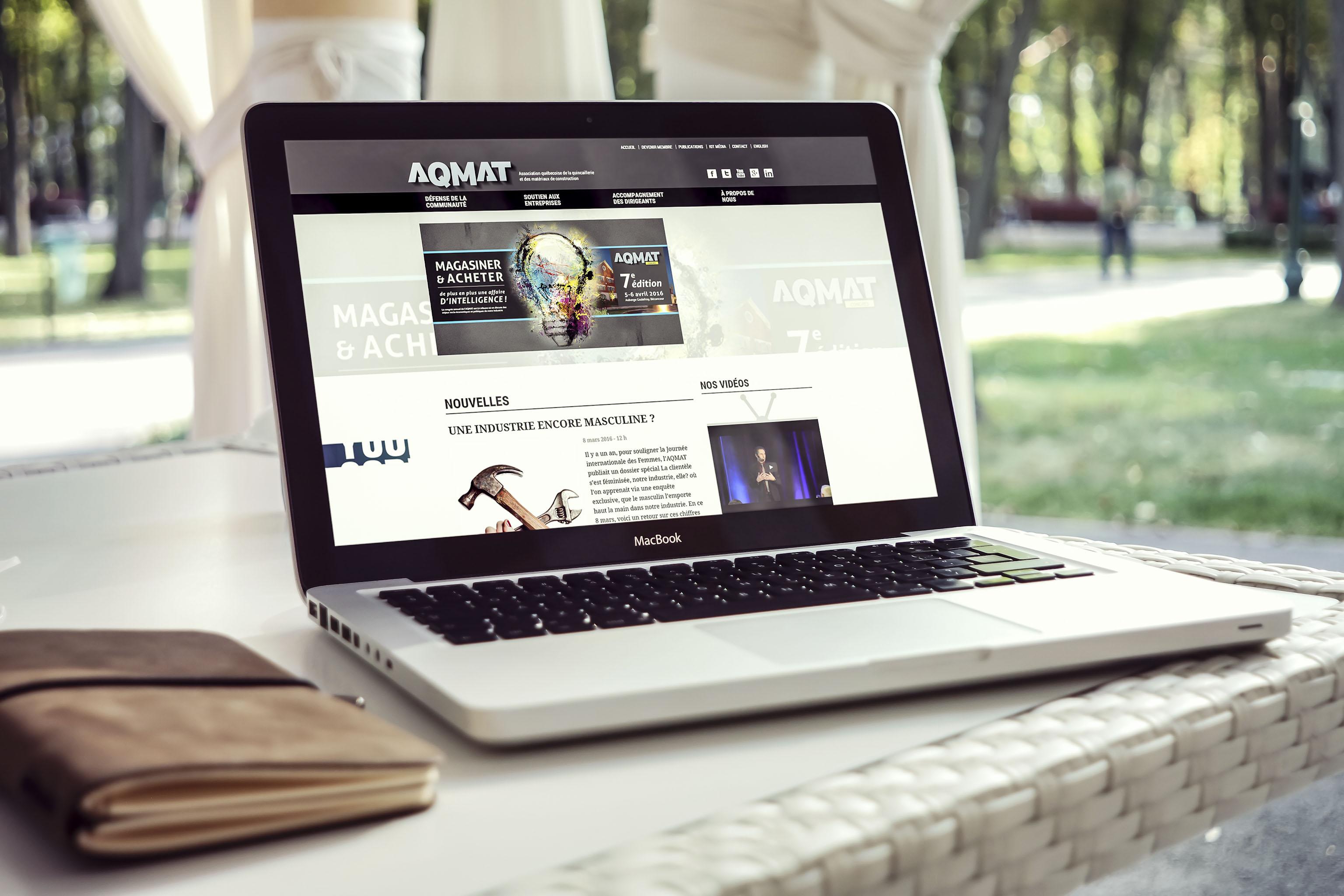 Site Web - AQMAT