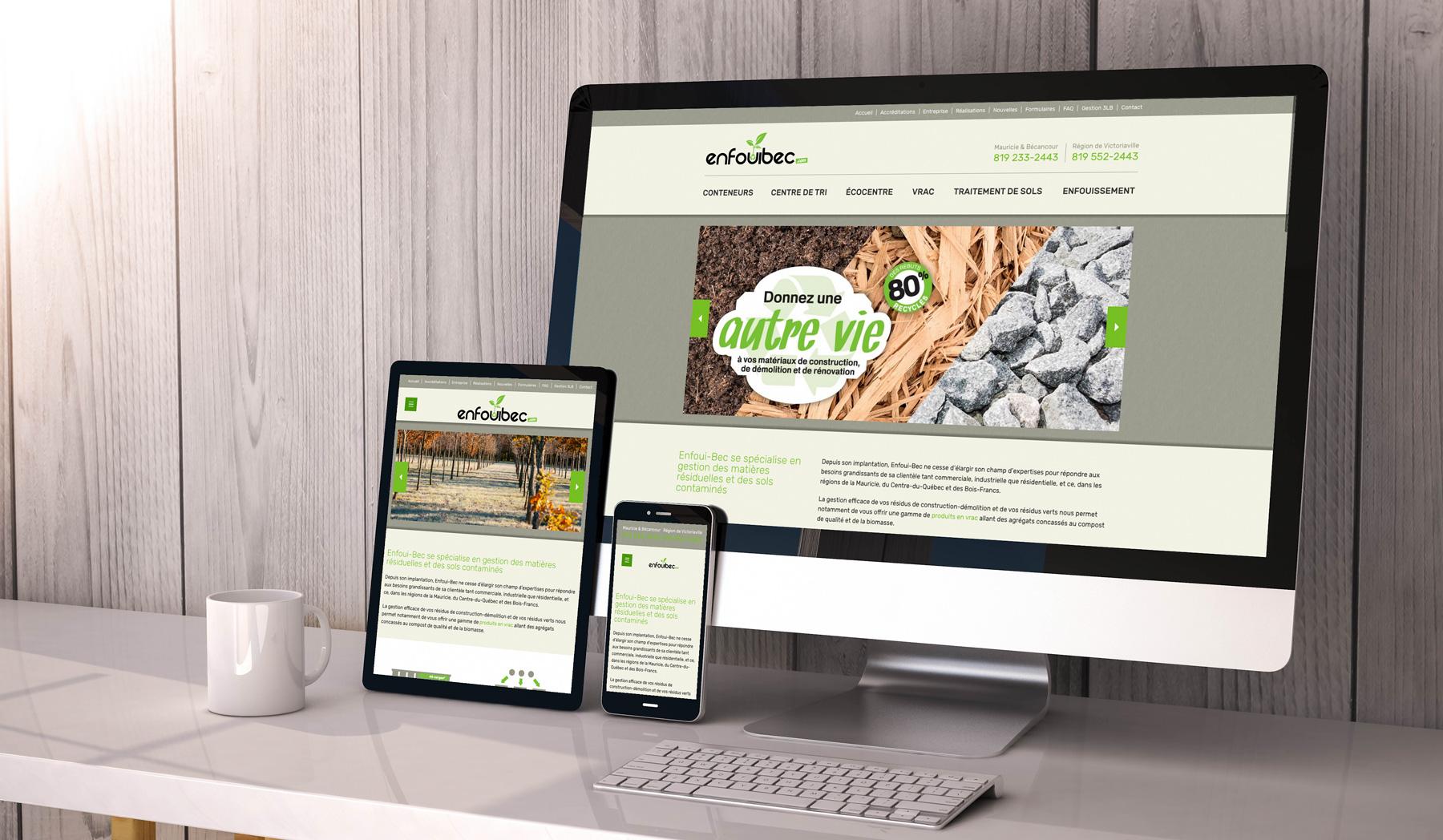 Site Web - Enfoui-Bec
