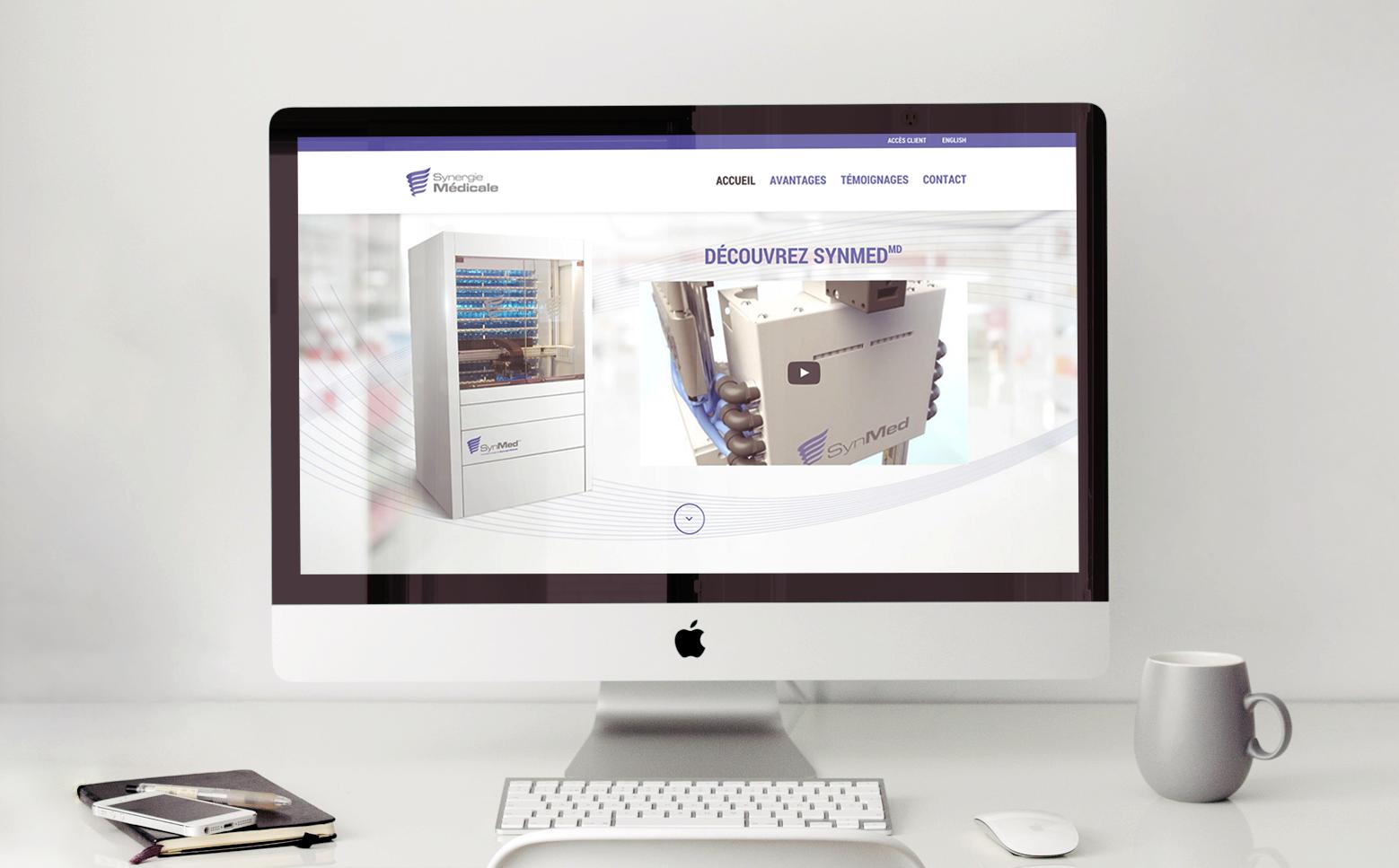 Site Web - Synergie Médicale