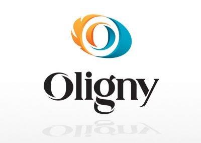 Identité – logo et cartes d'affaires – Oligny