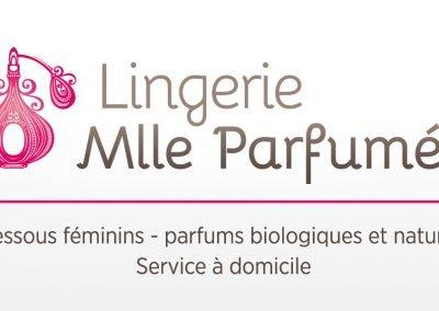 Lingerie Mlle Parfumée – Création d'identité corporative