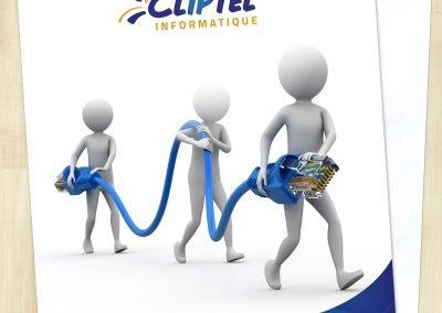Couverture imprimée – Cliptel 2.0 informatique