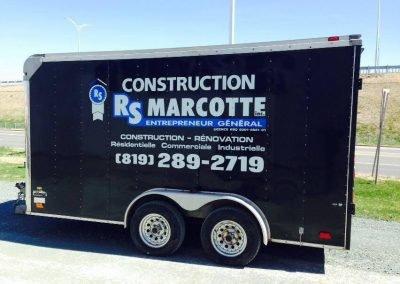 Wrap complet du cube de Construction RS Marcotte