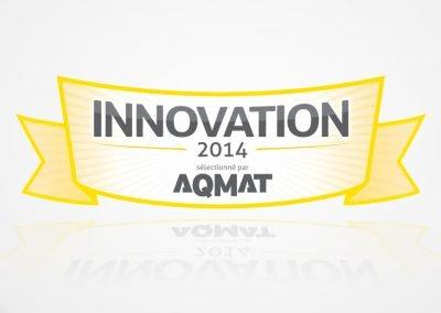 Création logo – AQMAT Innovations 2014