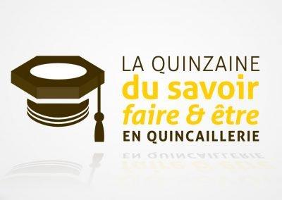 Logo AQMAT La quinzaine du savoir faite et être en quincaillerie