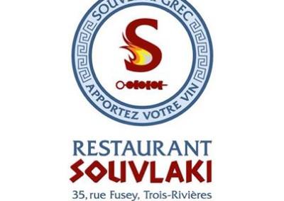 Identité corporative – Restaurant Souvlaki à Trois-Rivières
