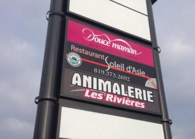 Enseignes extérieures – Douce maman à Trois-Rivières