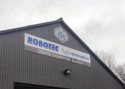 Enseigne extérieure – Robotec Agri-Innovation