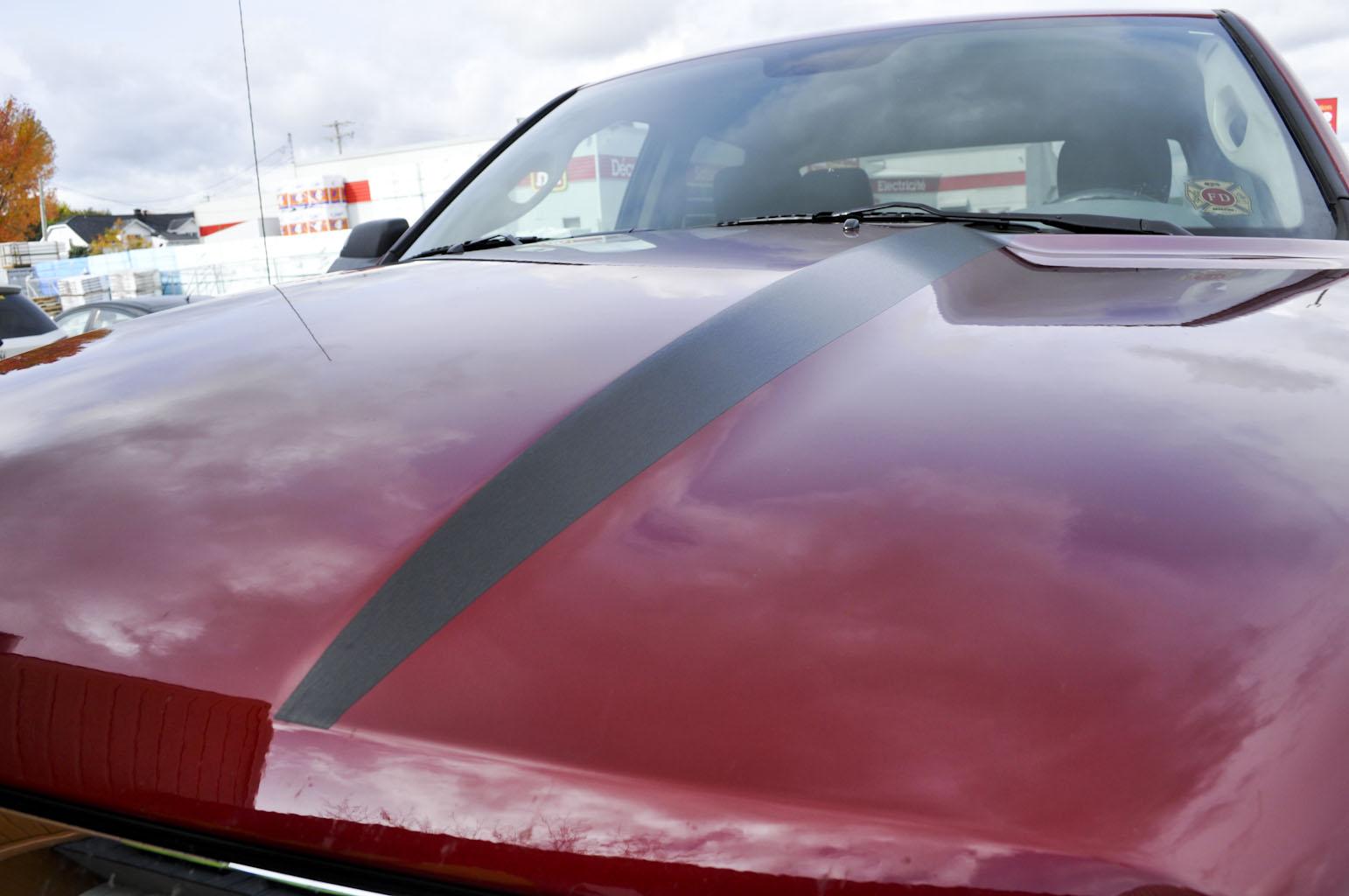 Bas de porte et hood noirs brossés - Ram 1500