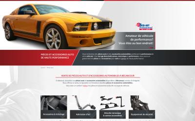 Un site Web pour le Garage Blanchette PMP à Bécancour!