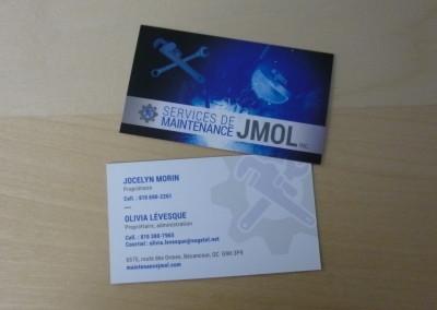 Création image de marque – Maintenance JMOL inc.