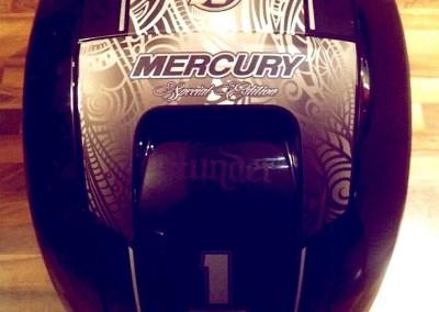 Autocollant sur mesure – Moteur de bateau Mercury