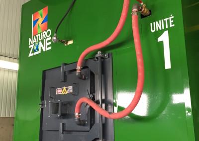 Autocollants pour l'entreprise Naturo Zone