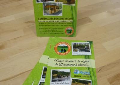 Encart imprimé – Parc régional de la rivière Gentilly