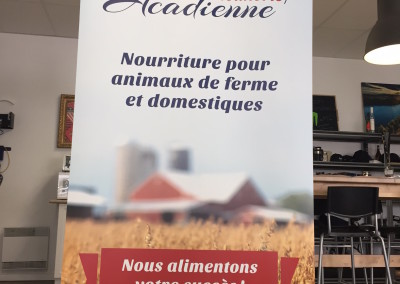Affichage – Roll-up – Meunerie Acadienne