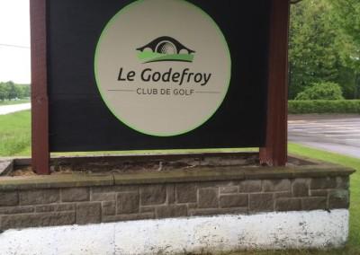 Affiche extérieure – Club de golf Le Godefroy
