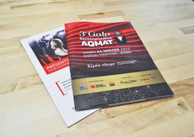 Conception du programme Gala – Gala AQMAT