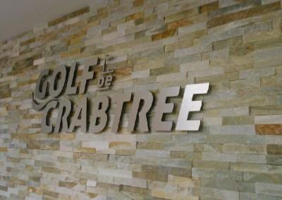 Découpe en alupanel – Golf de Crabtree