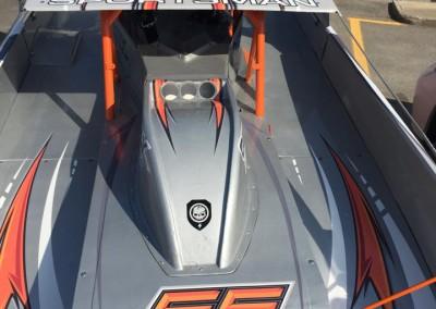 Création wrap complet voiture de course – LP Racing