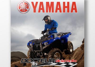 Affiche publicitaire – Docteur de la moto