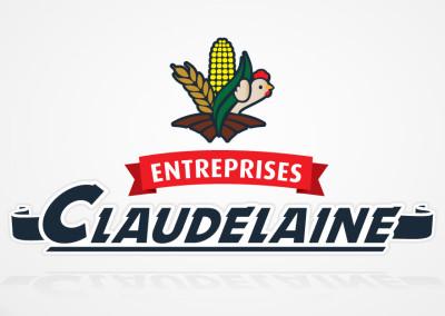 Création du logo pour les Entreprises Claudelaine
