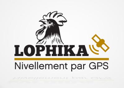 Création de l'identité corporative pour Lophika