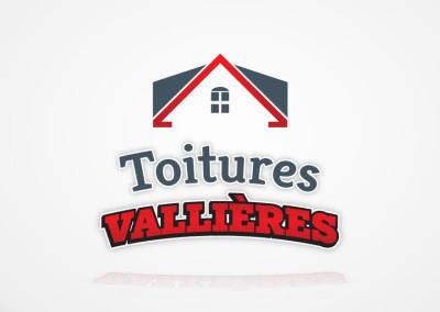 Identité d'entreprise pour les Toitures Vallières