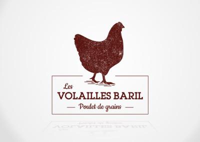 Nouveau logo d'entreprise pour Les Volailles Baril