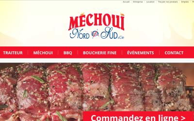 Une refonte de site Web pour Méchoui Nord Sud et cie à Bécancour!