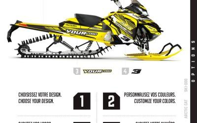 Kits graphiques pour motoneige : commandez le vôtre dès aujourd'hui!