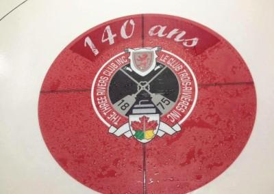 Impression bannière mesh pour Curling Trois-Rivières