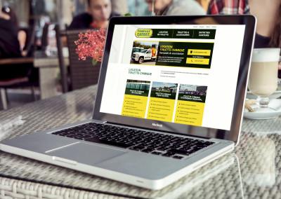Refonte du site Web de Pompage Expert à Trois-Rivières