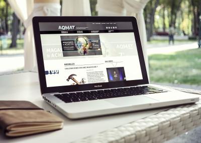 Refonte du site Web de l'AQMAT à Longueuil