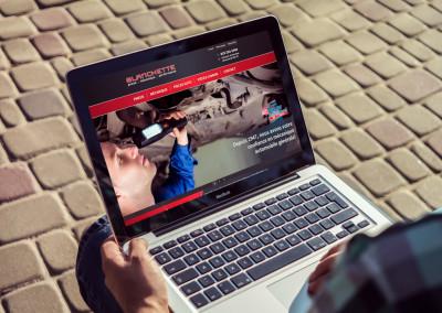 Conception de site Web – Garage Blanchette PMP à Bécancour
