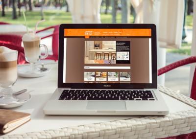 Un site Web pour Comptoir Direct à Bécancour
