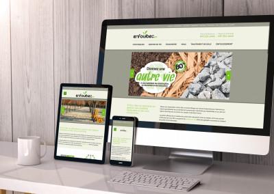 Refonte du site Web d'Enfoui-Bec