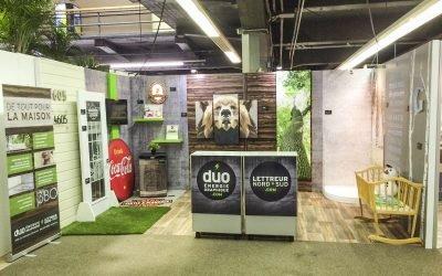 Duo Lettreur Nord-Sud est de l'Expo Habitat Mauricie!