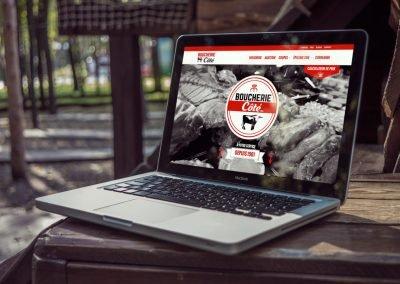 Création du site Web de la Boucherie A. Côté