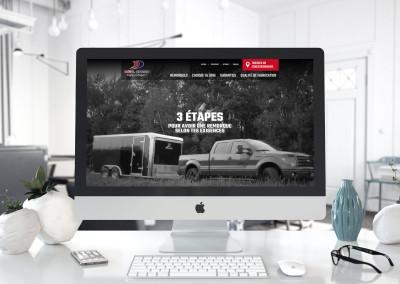 Refonte du site Web d'Idéal Cargo