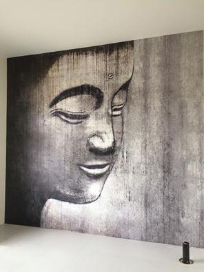 Image imprimée et installée au mur