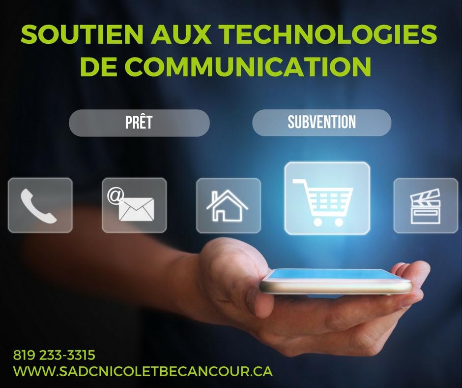 Soutien aux technologies de la communication SADC Nicolet-Bécancour