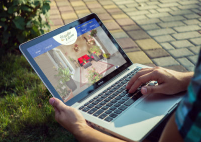 Site Web Les Jardins d'Anna