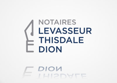 Logo Notaires Levasseur Thisdale Dion